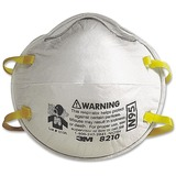 3M 8210 Particulate Respirator Mask - 2 / Pack - White