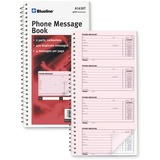 Blueline Telephone Message Book A1630T