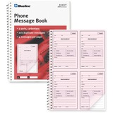 Blueline A1632T Telephone Message Book A1632T