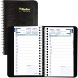 Blueline 1/2 Hour Daily Appointment Book C1501-81BT