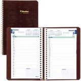 Blueline Wirebound Daily Appointment Planner C1504-83T