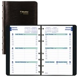 Blueline Wirebound Hourly Appointment Planner
