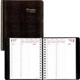 Brownline Essential Daily Planner CB635W-BK
