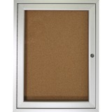 Ghent 1-Door Indoor Enclosed Bulletin Board