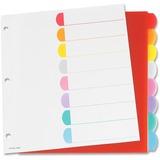 Esselte Color Coded Index Divider PL213-8RD