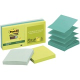 Post-it Pop-up Super Sticky Notes Refill, Bora Bora Color Collection