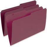 Pendaflex Single Top Vertical Colored File Folder R615-BUR