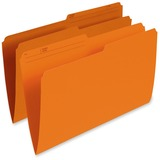Esselte Single Top Vertical Colored File Folder R615-ORG