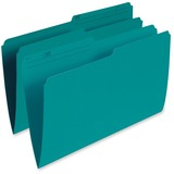 Esselte Single Top Vertical Colored File Folder R615-TEA