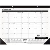 At-A-Glance Monthly Calendar Desk Pad SK24FB-00