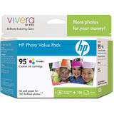 HP No. 95 Value Pack Ink Cartridges