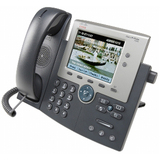 Cisco Unified 7945G IP Phone - Wall Mountable - Silver CP-7945G-RF