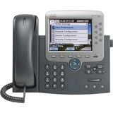 Cisco Unified 7975G IP Phone - Wall Mountable - Dark Gray CP-7975G-RF