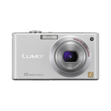 Panasonic Lumix DMC-FX37 Point & Shoot Digital Camera - White