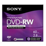 DMW60DSR2H - Sony DVD-RW Double Sided Media