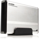 StarTech.com 3.5in Silver USB 2.0 to SATA External Hard Drive Enclosure SAT3510U2V