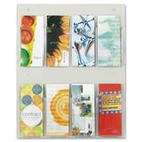Safco Clear2c 8 Pamphlet Display