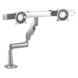 Chief KCG220S Dual Monitor Height-Adjustable Swing Arm Desk Mount