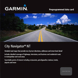 Garmin City GPS Europe NT - Northwest Eastern Europe Digital Map