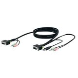 Belkin F1D9103-10 KVM Cable - 10 ft - Gray