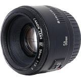 Canon 50mm f/1.8 II Telephoto Lens