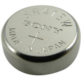 Lenmar WC384 SR41SW Silver Oxide Coin Cell Watch Battery