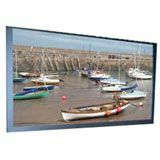 Draper Onyx with Veltex 253745 Fixed Frame Projection Screen