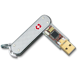Victorinox AG 5302FG8 8GB SwissFlash Flight USB 2.0 Flash Drive