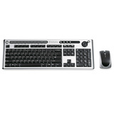 Verbatim Wireless Slim Keyboard and Mouse with Volume Wheel 96666
