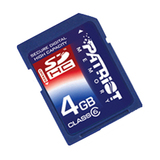 Patriot Memory 4GB Signature Secure Digital High Capacity (SDHC) Card - (Class 6)