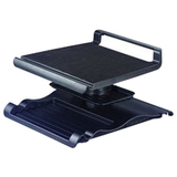 Aidata Ergonomic Adjustable Laptop LCD Monitor Riser Via Ergoguys