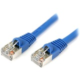 StarTech.com 25 ft Blue Shielded Snagless Cat5e Patch Cable