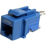 StarTech.com Cat5e Modular Keystone Jack Blue - Tool-Less KEYSTONE2BL