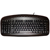 Ergoguys Left Handed Keyboard Wired USB Black