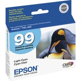 Epson Claria No. 99 Standard Capacity Light Cyan Ink Cartridge T099520-S