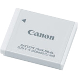Canon NB-6L Lithium Ion Digital Camera Battery - 2607B001