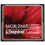 Kingston 16GB Ultimate CompactFlash Card - 266x CF/16GB-U2