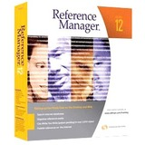 6126 - Thomson ResearchSoft Reference Manager v.12.0 - Complete Product - 1 User