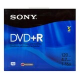 Sony DVD+R Media