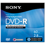 Sony DVD Recordable Media - DVD-R - 2.80 GB - 1 Pack DMR60DSR1H
