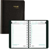 Brownline EcoLogix Daily Planner CB410W-BLK