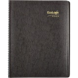 Brownline EcoLogix Monthly Planner CB435W-BLK