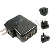 Lenmar 4-Port USB Travel AC Power Adapter