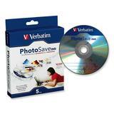Verbatim 96728 DVD Recordable Media - DVD-R - 5 Pack Slim Case
