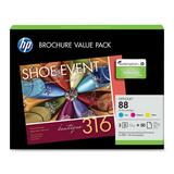 HP No. 88 Color Ink Cartridge Value Pack