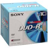 Sony 16x DVD-R Media 10DMR47R4