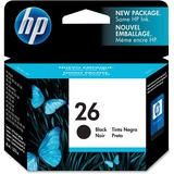 HP No. 26 Black Ink Cartridge