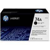 HP 74A Black Toner Cartridge 92274A