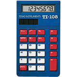 Texas Instruments TI-108 Simple Calculator