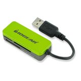 IOGEAR 12-in-1 USB 2.0 FlashCard Reader/Writer - GFR209W6
